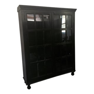 Crate & Barrel Faulkner Library Cabinet