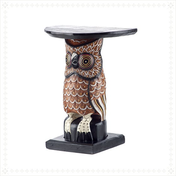Wise Owl Side Table - Image 4 of 4