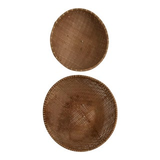 Large Winnowing Baskets - a Pair