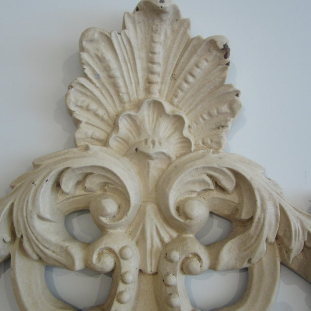 Rococo Heavily Patinated Mirror - Image 4 of 8