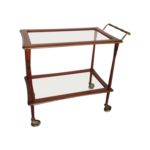 Ico Parisi Mid Century Bar Cart - Image 1 of 9