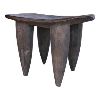 African Hand Carved Stool