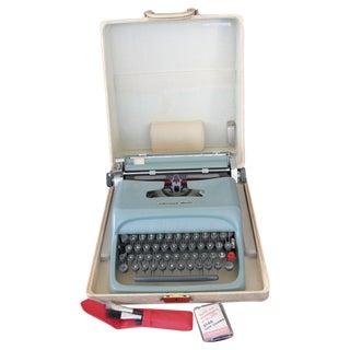 Green Underwood Olivetti Studio 44 Typewriter