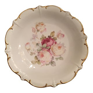 Antique German Rose Platter