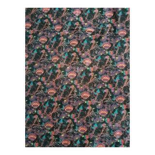 Chinoiseri Cotton Velvet Fabric 3 yds