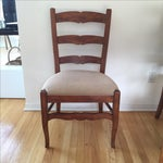 Image of Henredon Ladder Back Dining Chairs - Set of 6