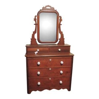 Victorian Mirrored Dresser