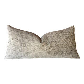 Robert Allen Beige Tweed Pillow