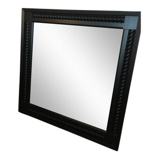 Restoration Hardware Black Square Mirror