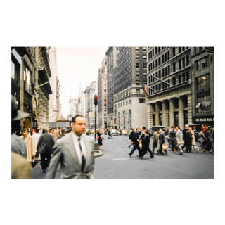 Vintage 1950s New York Manhattan 7th Avenue Photo Print