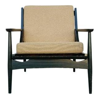 Vintage Black Lounge Chair