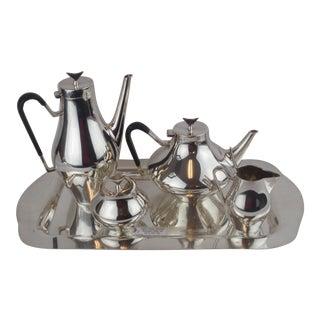 John Prip for Reed & Barton Denmark Modernist Coffee Tea Set