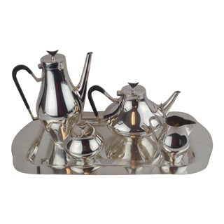 John Prip for Reed & Barton Denmark Modernist Coffee Tea Set