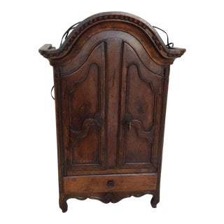 Miniature French Armoire With Interior Light