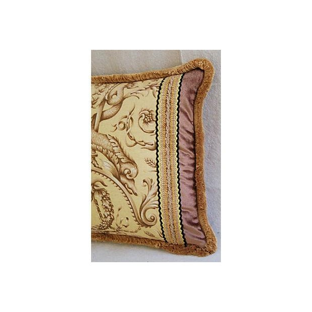 Image of Designer Braemore Mythical Creature Accent Pillow