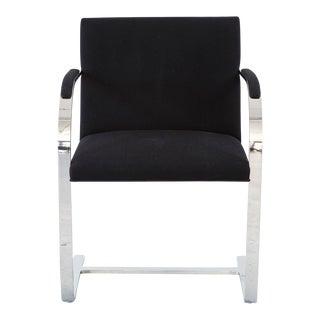Set of Eight Brueton Flat Bar Chairs