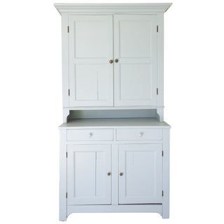 Amercian Country Painted Blue Cabinet
