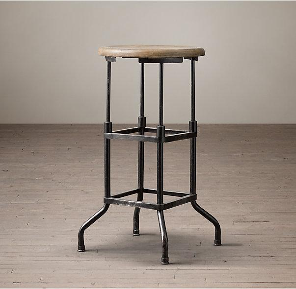 Restoration Hardware Industrial Bar Stools Pair Chairish : 6be4c61e 857e 4378 81d0 2e2b453ba878aspectfitampwidth640ampheight640 from www.chairish.com size 603 x 603 jpeg 47kB