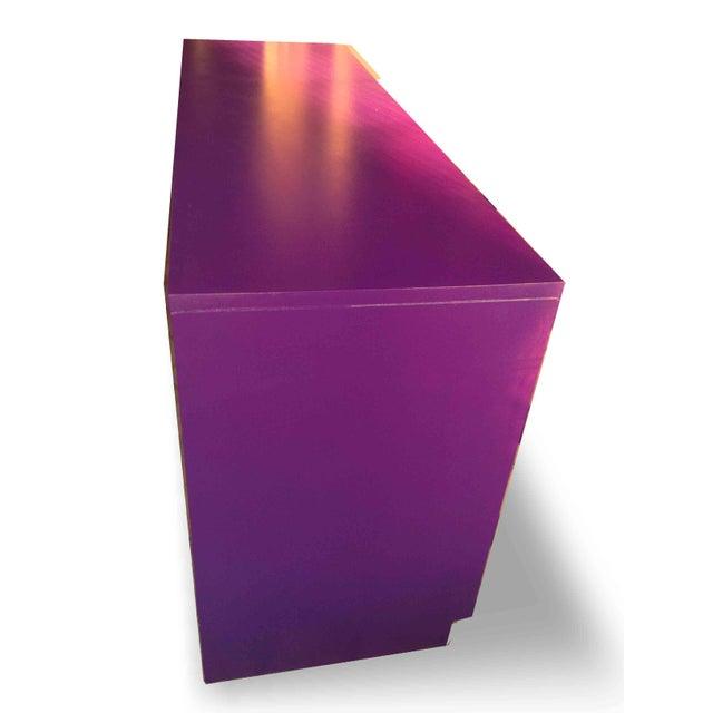 Vintage Campaign Purple Chest - Image 9 of 10