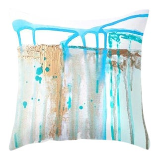 Abstract Painting Art Throw Pillow