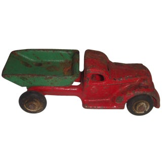 Rustic Cast Iron Tow Truck