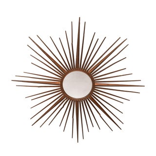 French Vintage Starburst Mirror