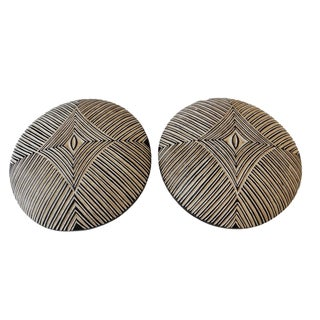 African Bamileke Shields - A Pair