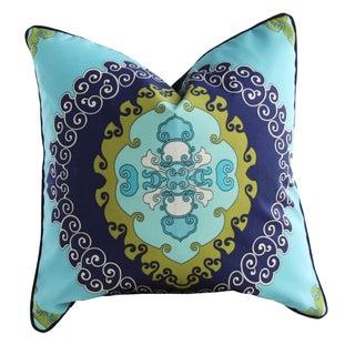 Medallion Outdoor Throw Pillow