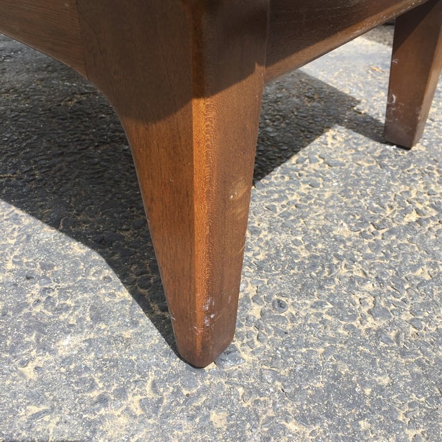 Mid-Century Diamond Front Nightstands - A Pair - Image 8 of 11