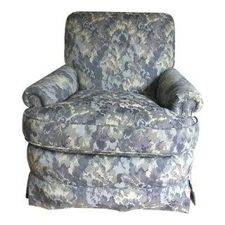 Brunschwig & Fils Walnut Saratoga Chair