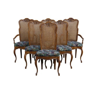 Drexel French Provincial Dining Chairs - Set of 6