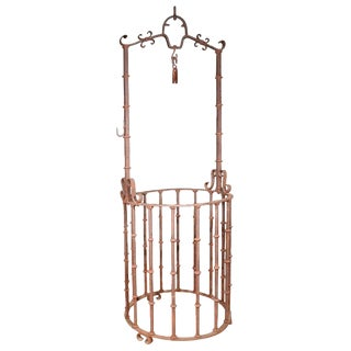 18th Century Wrought Iron Well Head from Spain