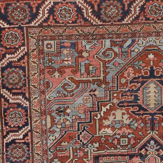 """Antique Persian Heriz Rug - 8' x 10'1"""" - Image 5 of 7"""
