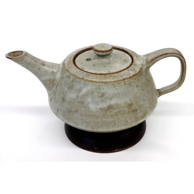 Artisan Stoneware Tea Pot - Image 2 of 10