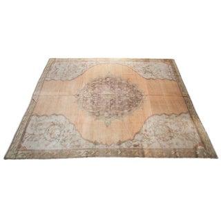 Vintage Oushak Carpet - 8' x 11'