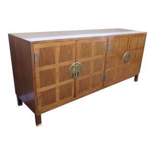 Baker Milling Road Campaign Walnut Credenza