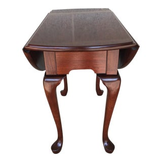 Vintage Pennsylvania House Cherry Wood Drop Leaf Table