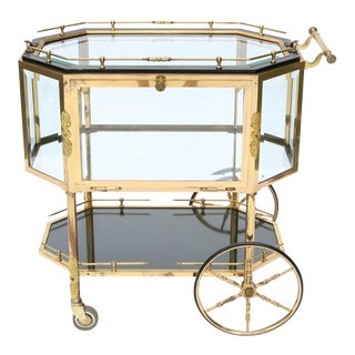 French Rolling Bar Cart