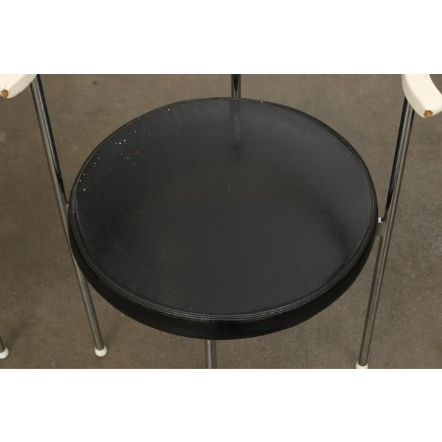 Frederik Sieck for Fritz Hansen Chairs - Set of 4 - Image 9 of 11
