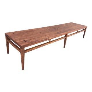 Lane Long Inlaid Coffee Table