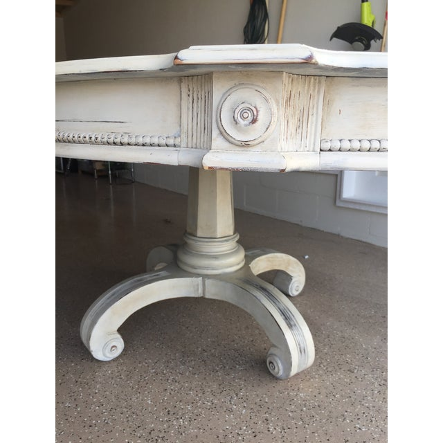 Image of Large Pedestal Dining Table