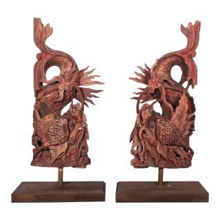 19th Century Dragon Corbels