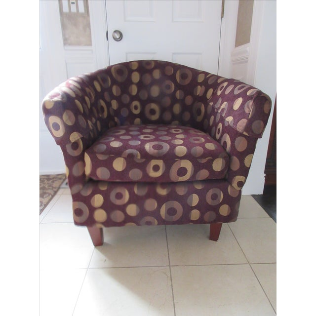 Contemporary Club Chair - Image 7 of 10