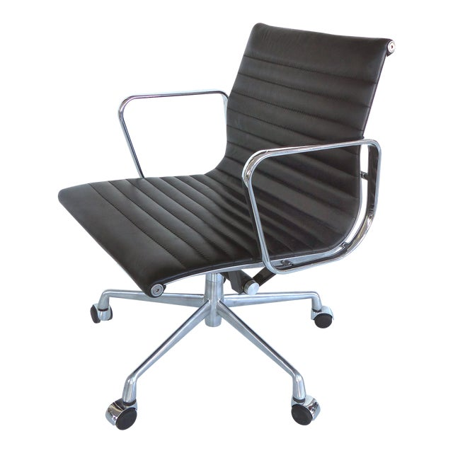 Mid-century Eames Herman Miller Aluminum Group Chair - Image 1 of 11