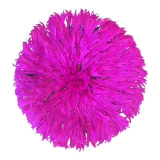 Pink Juju Ceremonial Feather Headdress