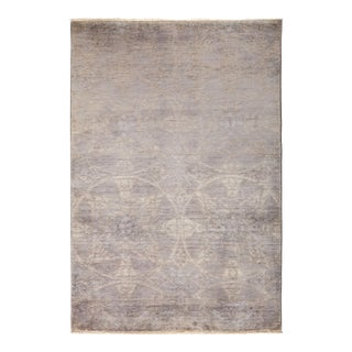 """Vibrance Hand Knotted Area Rug - 4' 2"""" X 6' 1"""""""