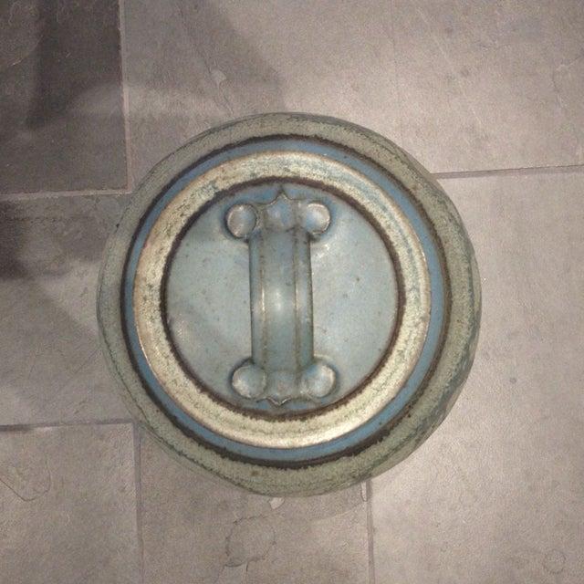 Mid-Century Studio Pottery Lidded Jar - Image 4 of 5