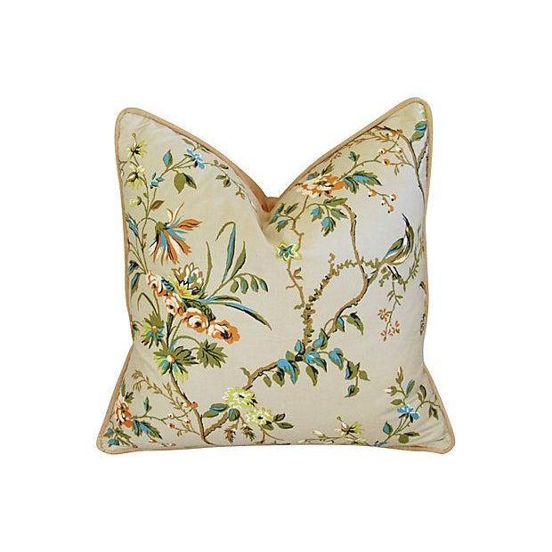 Image of Custom Designer Brunschwig & Fils Pillows - Pair
