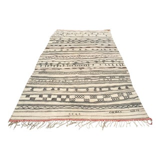 "Vintage Moroccan Tribal Rug - 5'6"" X 11'10"""