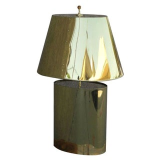 Curtis Jere Style Brass Table Lamp